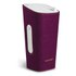 Sonoro Cubo Go New York Portable Bluetooth Speaker - White/Purple Felt: Image 1