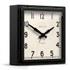 Newgate Mini Quad Clock - Black: Image 1