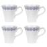 Sophie Conran for Portmeirion Mug - Florence - White (Set of 4): Image 1