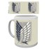 Attack on Titan Badge Mug: Image 1