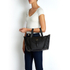 meli melo Thela Medium Tote Bag - Black: Image 5