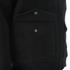 Knutsford Men's 'Made in England' Moleskin Zip-Through Bomber Jacket - Black Moleskin: Image 4