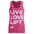 Myprotein Women's Burnout Vest - Pink: Image 1