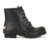 Hunter Men's Original Lace Up Rubber Rigger Boots - Black: Image 1