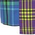 House of Holland Women's Cross Over Tartan Dress - Blue/Purple/Tartan: Image 4