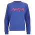 House of Holland Women's Booya Loopback Jersey Sweatshirt - Blue: Image 1