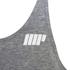 Myprotein Men's Longline Stringer Vest, Grey Marl: Image 3