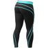 Better Bodies Athlete Tights - Black/Aqua: Image 2