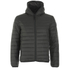 REPLAY Men's Padded Zipped Jacket - Dark Warm Grey: Image 1