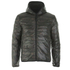 REPLAY Men's Padded Zipped Jacket - Dark Warm Grey: Image 5