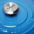 Le Creuset Signature Cast Iron Round Casserole Dish - 24cm - Marseille Blue: Image 3