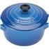 Le Creuset Stoneware Petite Casserole Dish - Marseille Blue: Image 3
