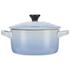 Le Creuset Stoneware Petite Casserole Dish - Coastal Blue: Image 1
