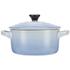 Le Creuset Stoneware Petite Casserole Dish - Coastal Blue: Image 4