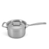 Le Creuset 3-Ply Stainless Steel Saucepan with Lid - 18cm: Image 1
