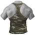 GASP Utility Rib T-Back Vest - Grey Camoprint: Image 2