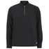 Wood Wood Men's Phillip Quarter Zip Top - Black: Image 1