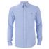 Polo Ralph Lauren Men's Pique Long Sleeve Button Down Shirt - Harbour Island Blue: Image 1