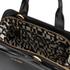 Lulu Guinness Women's Paula Mid Polished Calf Leather Tote Bag - Black: Image 6