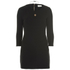 nümph Womens Black Tunic Dress - Caviar: Image 1