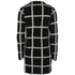 nümph Womens Checked Long Cardigan - Caviar: Image 2