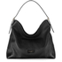 Aspinal of London Women's A Hobo Bag - Black Pebble: Image 1