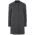 ONLY Womens Barbara Wool Coat - Dark Grey Melange: Image 1