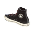 Converse Men's Chuck Taylor All Star Suede/Leather Hi-Top Trainers - Black/Papaya/Turtle: Image 5