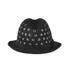 REDValentino Women's Stud Trilby Hat - Black: Image 4