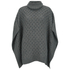 MICHAEL MICHAEL KORS Women's Texture Poncho - Grey: Image 1