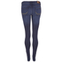 Superdry Women's Super Skinny Jeans - Mid Blue Worn: Image 2