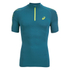 Asics Men's IM 1/2 Zip Running T-Shirt - Mosaic Blue: Image 1