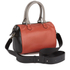 Paul Smith Accessories Women's Leather Bowler Bag - Orange/Black: Image 2