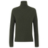 Helmut Lang Women's Turtleneck Jumper - Dark Olive: Image 1