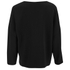 Helmut Lang Women's Raw Details Long Sleeve Top - Black: Image 2