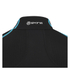 Skins A200 Mens Thermal Long Sleeve Compression Mock Neck Top - Black/Neon Blue: Image 6