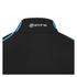 Skins A200 Mens Thermal Long Sleeve Compression Mock Neck Top - Black/Neon Blue: Image 6