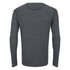 Merrell Geom Long Sleeve T-Shirt - Granite Heather/Black: Image 2