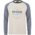 Rip Curl Men's Big Mama Raglan Long Sleeve Top - Breakage White: Image 1