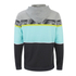 Rip Curl Men's Aggro Union Zip Through Hoody - High Rise Grey: Image 2