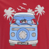 Salvage Men's Campervan T-Shirt - Red: Image 3