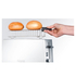 Graef 2 Slice Long Shot Toaster - White Gloss: Image 5
