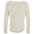 Polo Ralph Lauren Women's Cable Knitted Jumper - Port Cream: Image 2