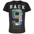 Hack Men's Moston Nine T-Shirt - Black: Image 1