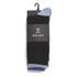 Wolsey Men's 5 Pack Heel and Toe Design Socks - Blue: Image 3