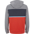 Animal Men's Culver Colour Block Hoody - Orange/Grey: Image 2