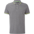 Animal Men's Pique Polo Shirt - Charcoal Grey Marl: Image 1