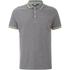 Animal Men's Pique Polo Shirt - Charcoal Grey Marl: Image 1