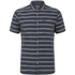 Animal Men's Acre Striped Short Sleeve Shirt - Indigo Blue: Image 1