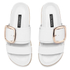 Senso Women's Kada Leather Double Strap Sandals - Ice: Image 2